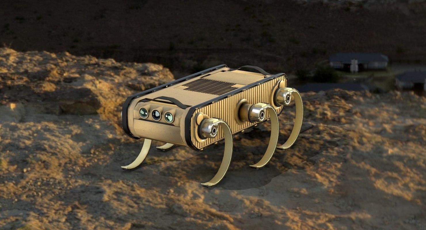 3D rhex robot boston dynamics