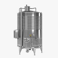 3D model vine termotank