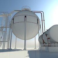 3D storage gas