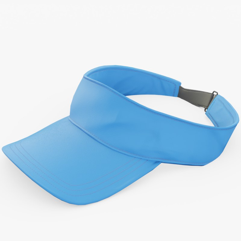 3D visor golf