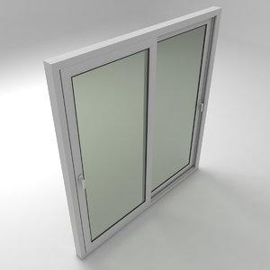 3D sliding windows door
