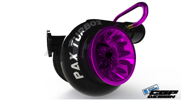 advanced design turbocharger 3D model