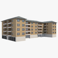 apartment building 22 model