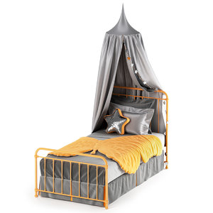 3D bed hygge