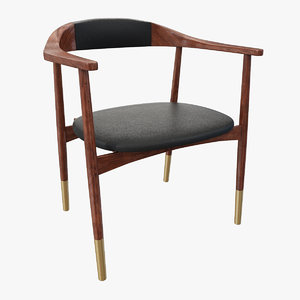 perry dinning chair design 3D model