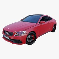 Mercedes Benz AMG C63 Coupe 2015
