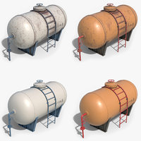 tank container 3D
