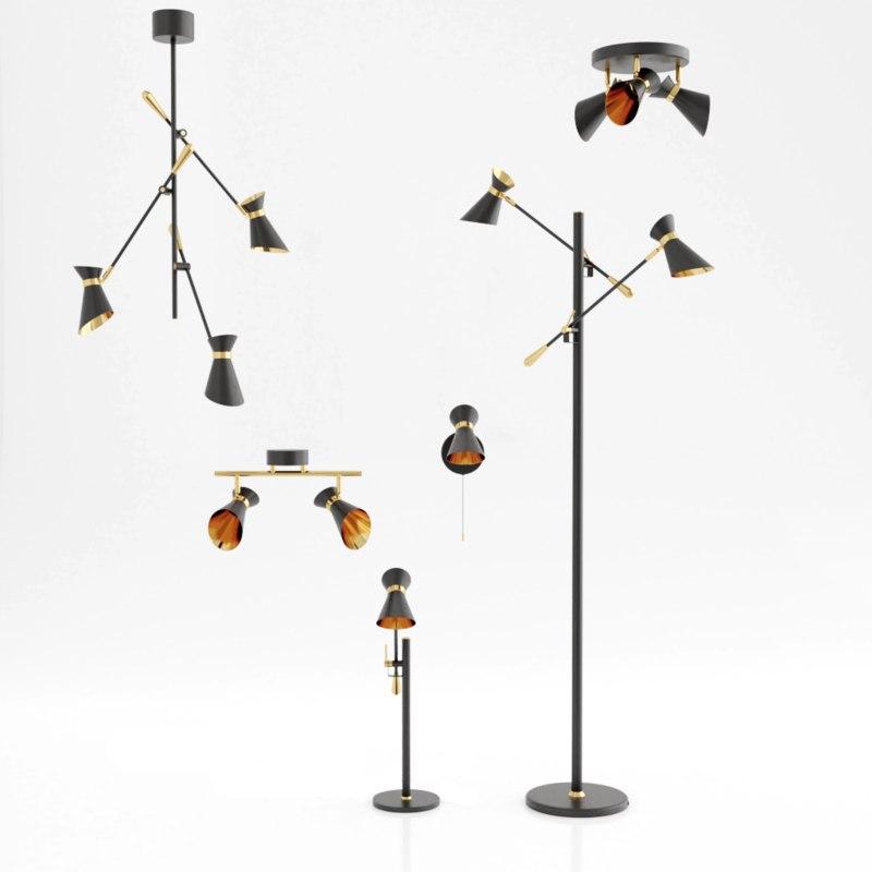 design lamps 3D