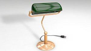 bedside lamp 3D model