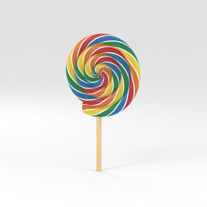 lollipop candy 3D