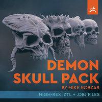 Demon SKull Pack