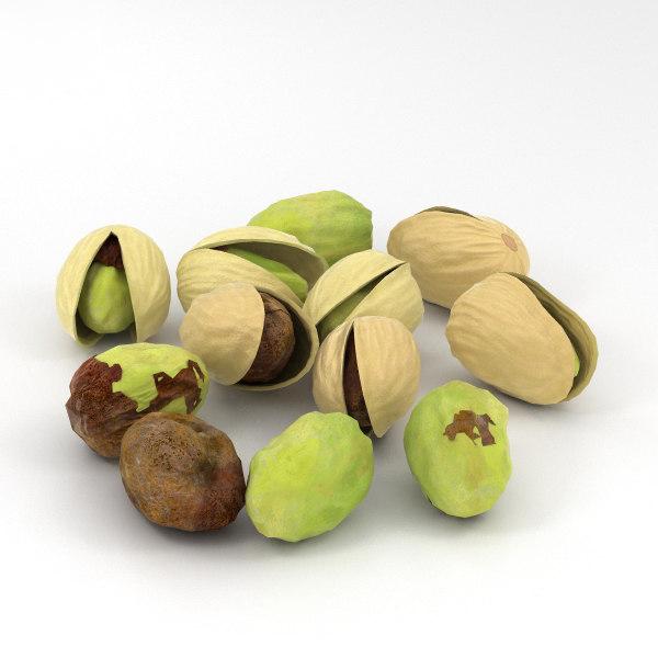 nut food 3D model