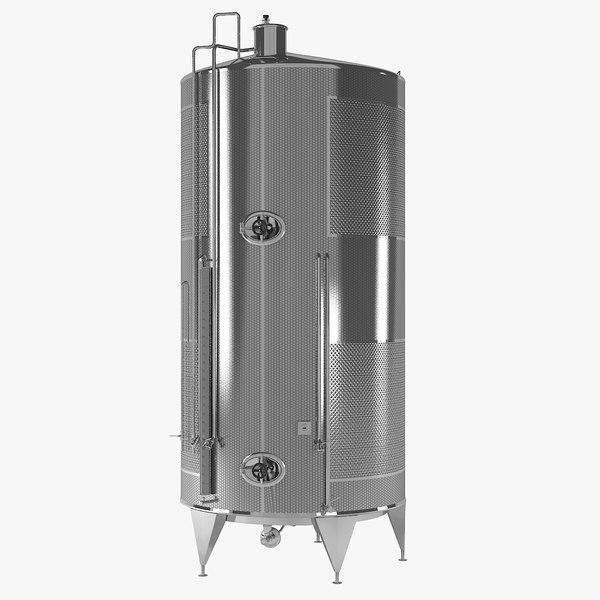 3D alcohol tank storage