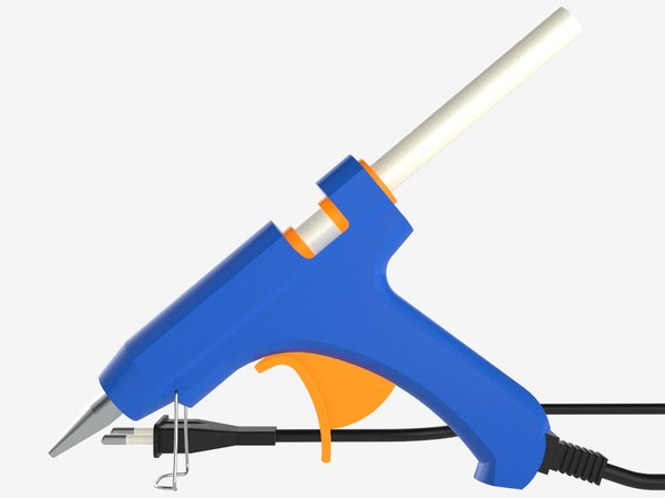 3D model glue gun