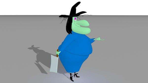 looney witch hazel 3D model