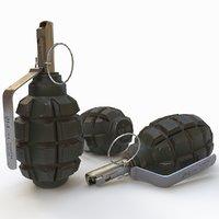 grenade f1 3D