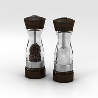 3D salt pepper model