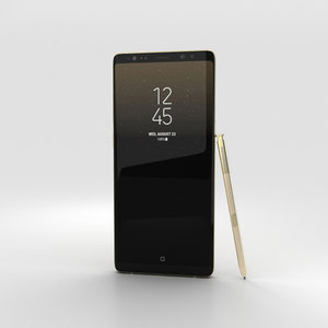 samsung galaxy note 3D model