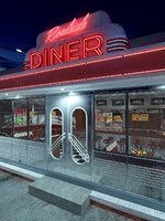 Vintage Roadside Diner