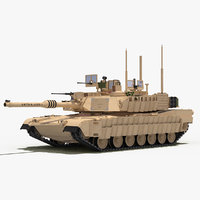 M1A2 Abrams SEP TUSK II (Desert Color - US Army)