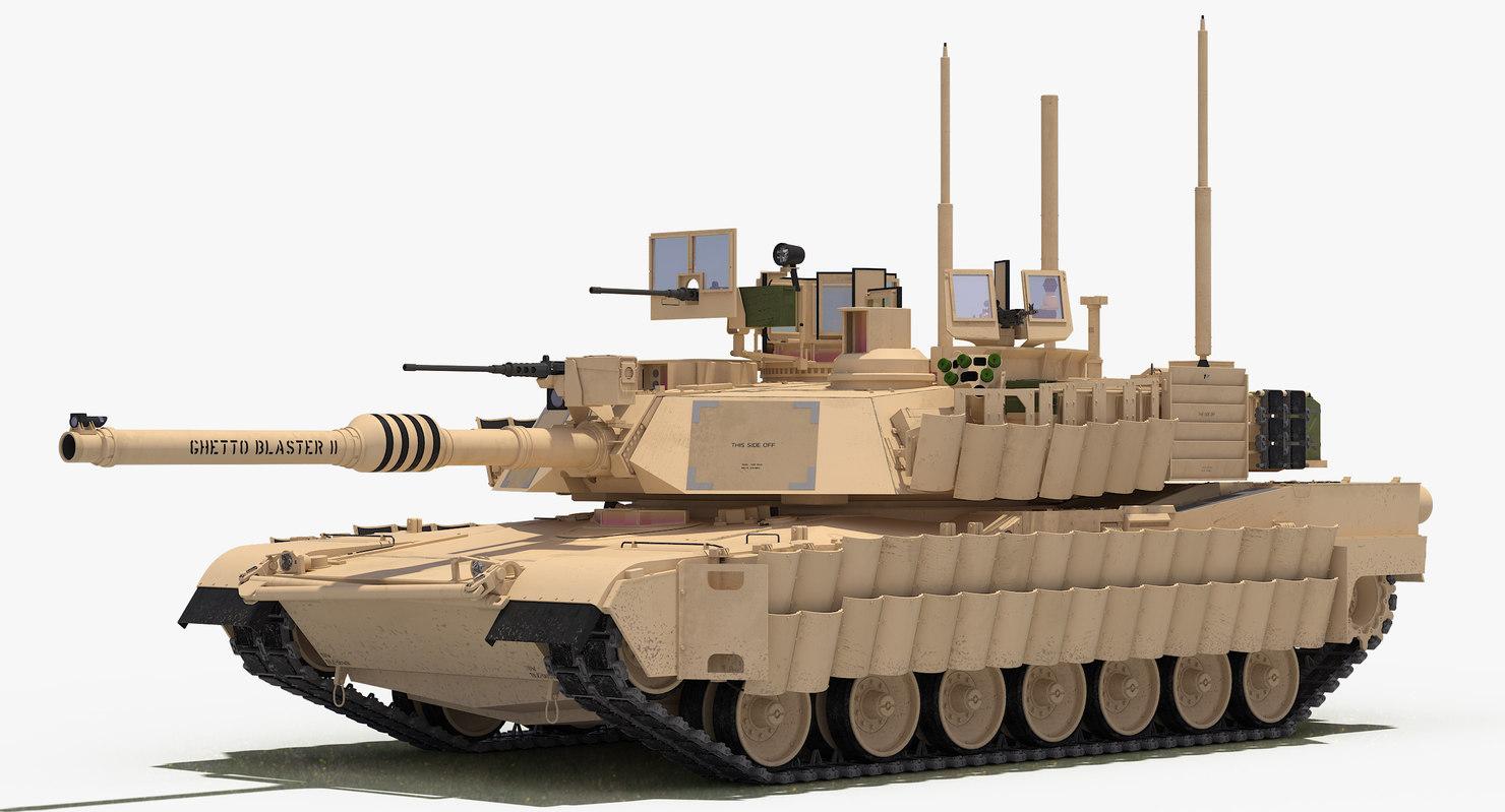M1a2 Abrams Sep Tusk Model