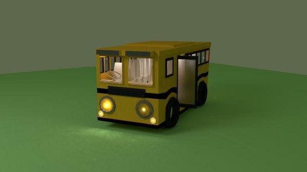 3D vehicle bus