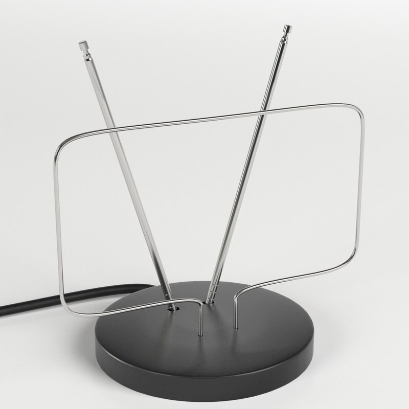 basic indoor antenna 3D