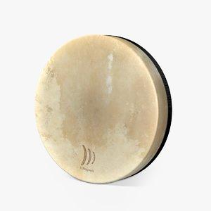 3D schlagwerk frame drum