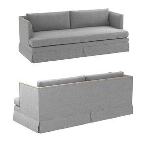 3D sofa mariella skirt