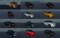 Vehicle Pack Low-poly 3D model Low-poly 3D model