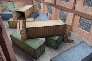- containers 1 3D model