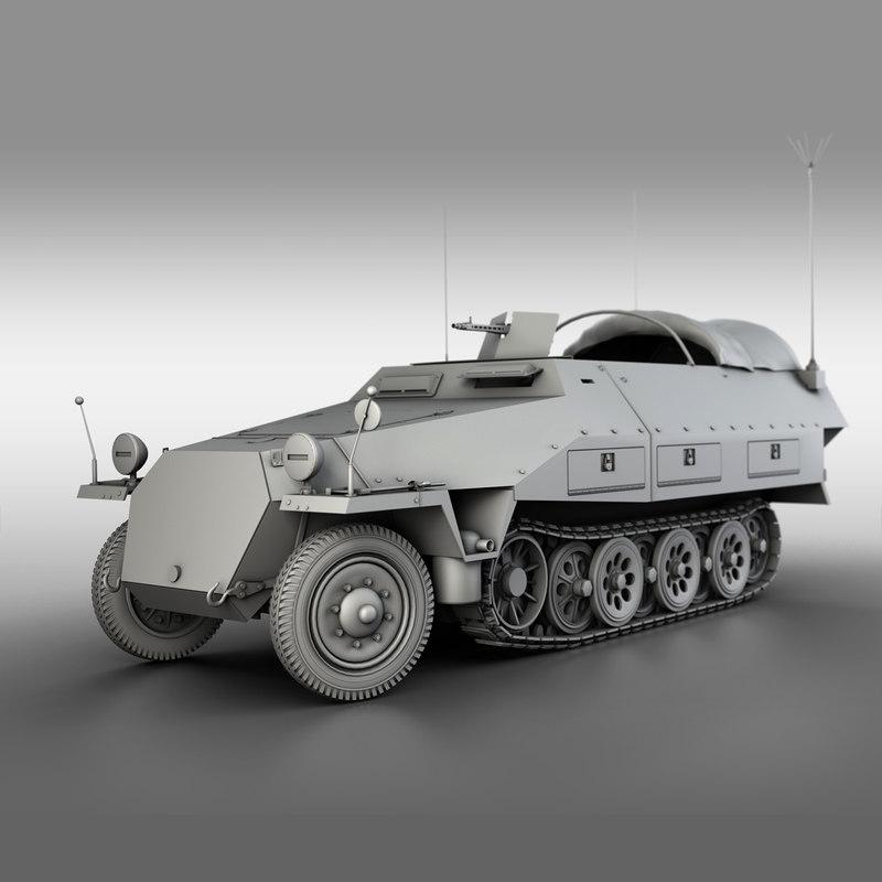 sd kfz 251 3 model