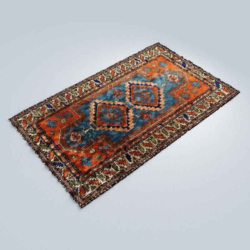 Carpet Styles Original Vector 3d Model Turbosquid 1374122