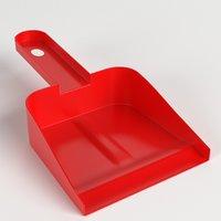 3D dustpan ready model