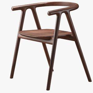 chair tanaka 3D model