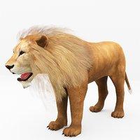 lion ready 3D
