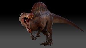 3D spinosaurus games animations