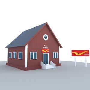 post office 3D