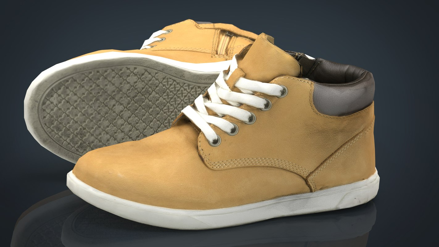 3D leather boots 2