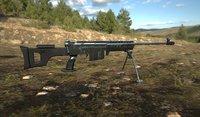 sniper weapon model