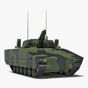 3D model lynx kf41 nextgen ifv