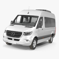 3D mercedes sprinter tourer 2019