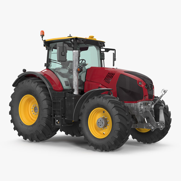 tractor generic interior clean 3D model