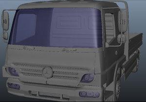 truck created 2017 3D model