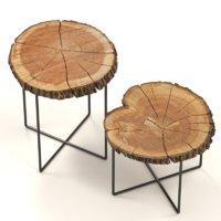 tables slabs 3D model