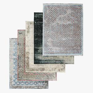 carpet pattern 3D