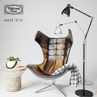 armchair decor model