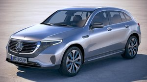 mercedes-benz eqc 2020 3D