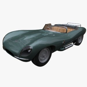 3D xkss car model