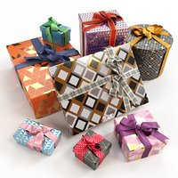 Gift boxes with bows part 3